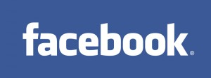 Facebook logo blue